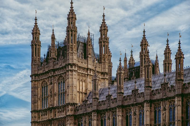 westminister building in uk